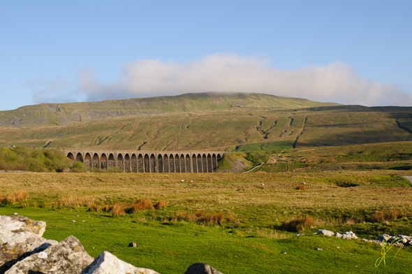 Ribblehead Viaduct and Whernside.