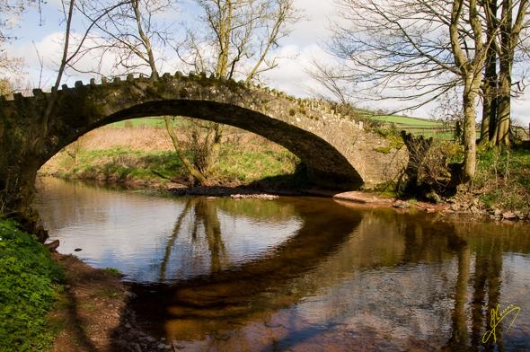 River Bran, Aberbran.