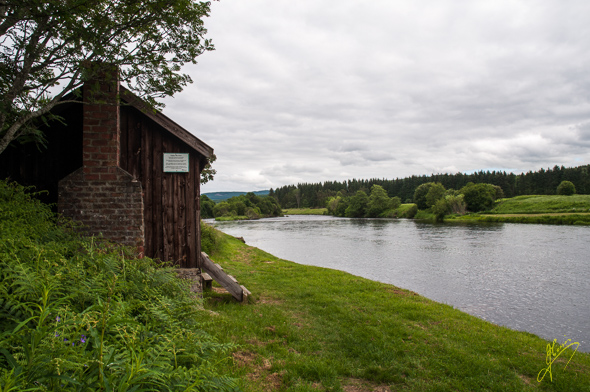River Dee Fishing Hut.