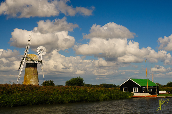 River Thurne and Mill.