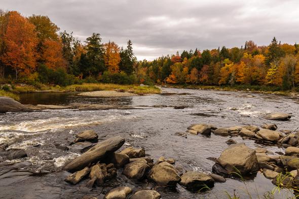 Rivière au Salmon.