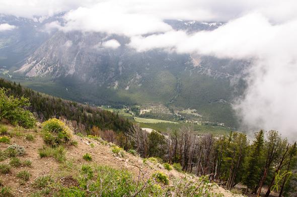 Rock Creek Vista Viewpoint.