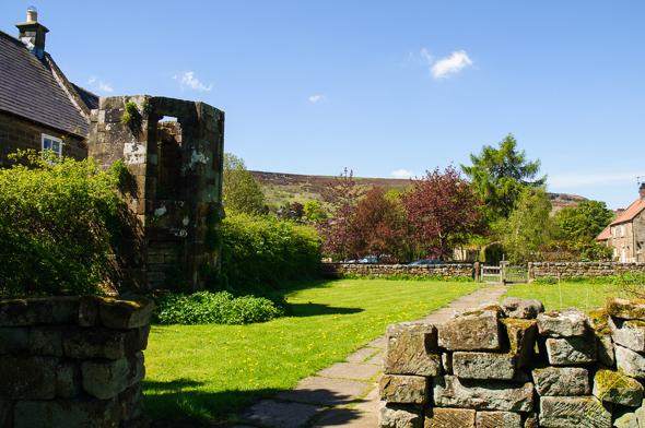 Rosedale Abbey Ruin.