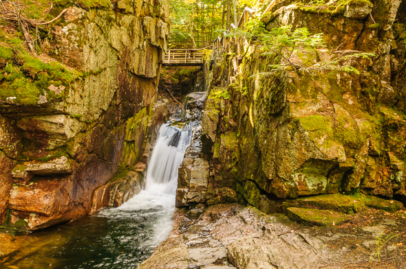 Sabbaday Falls.