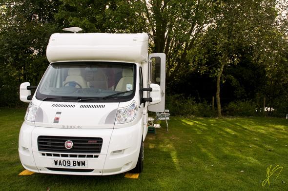 Salisbury Caravan Club Site.