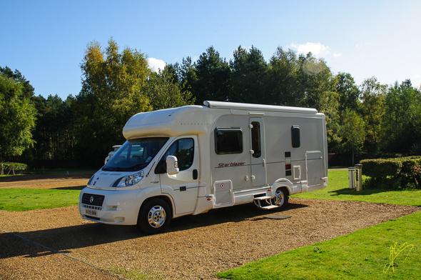 Sandringham Caravan Club Site.