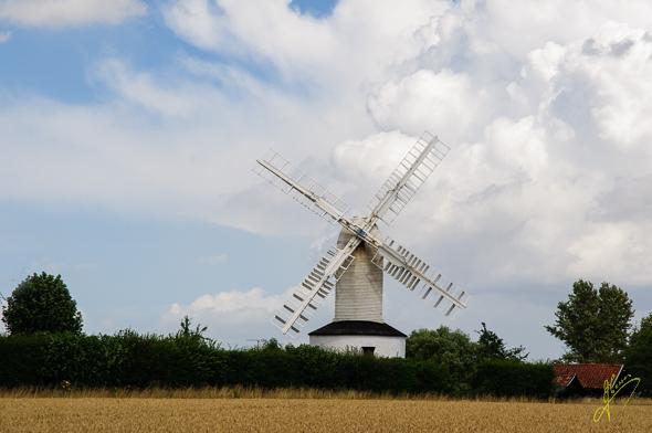 Saxtead Mill.