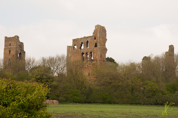 Sheriff Hutton Castle.