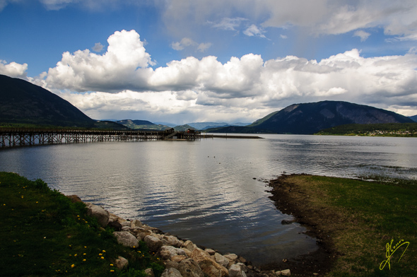 Shuswap Lake.