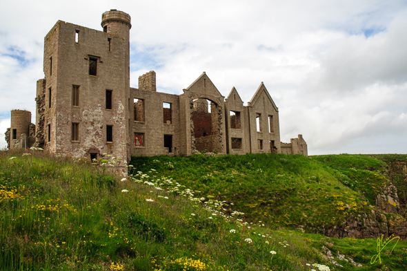 Slains Castle.