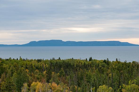 Sleeping Giant Peninsula.
