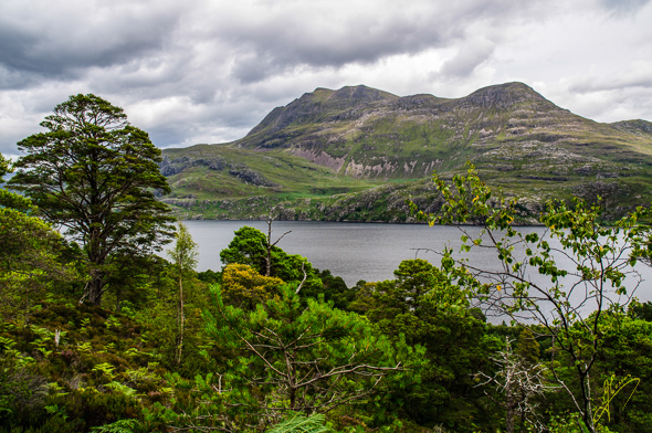 Slioch and Loch Maree.