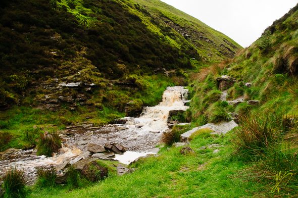 Snake Pass Waterfall.