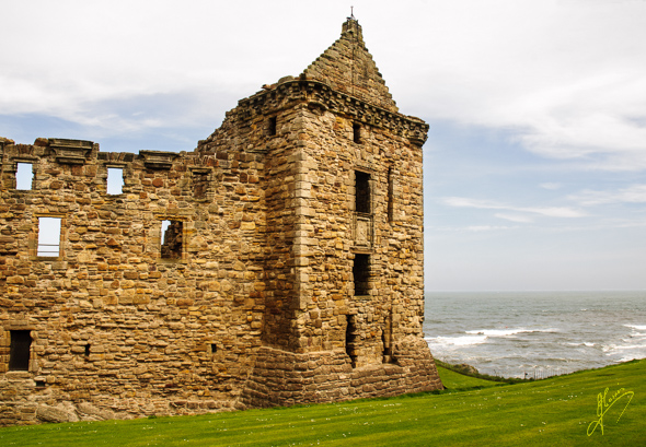 St Andrews Castle.