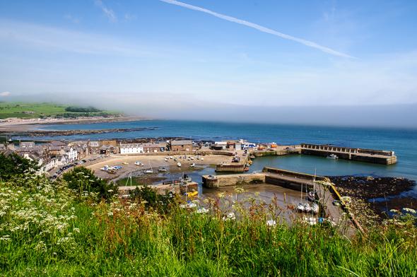 Stonehaven Harbour.