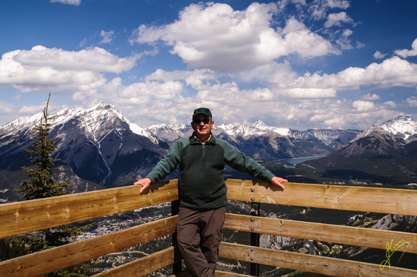 Sulphur Mountain Summit.