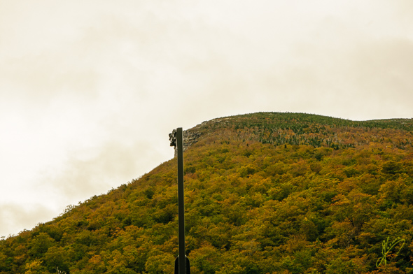 The Old Man of the Mountain.