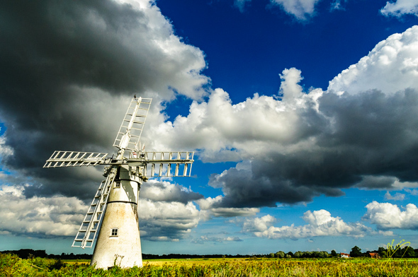 Thurne Drainage Mill.