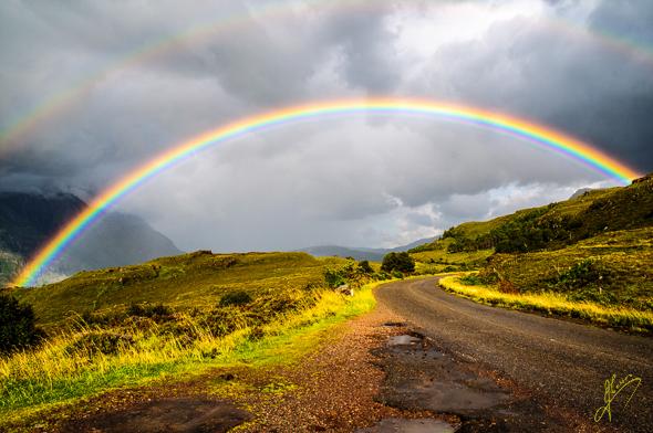 Torridon Rainbow.