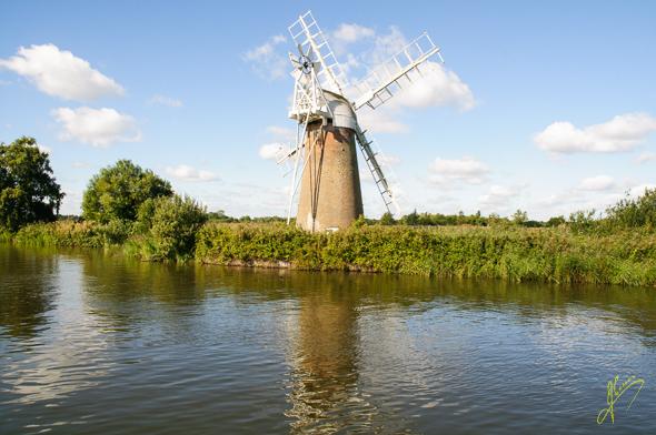 Turf Fen Windmill.