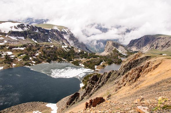 Twin Lakes, Beartooth Pass.
