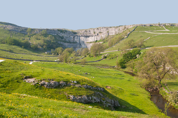 View to Malham Cove.