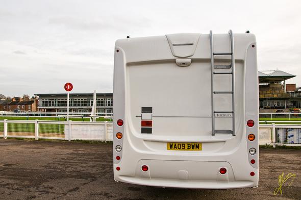 Warwick Caravan Club Site.