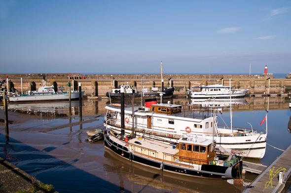 Watchet Harbour.