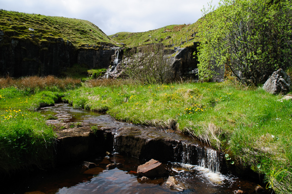Waterfall near Ais Gill.