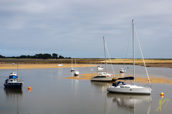 Wells-next-the-Sea Estuary.