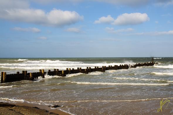 West Runton Beach.