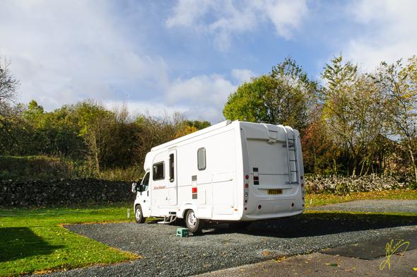 Wharfedale Caravan Club Site.