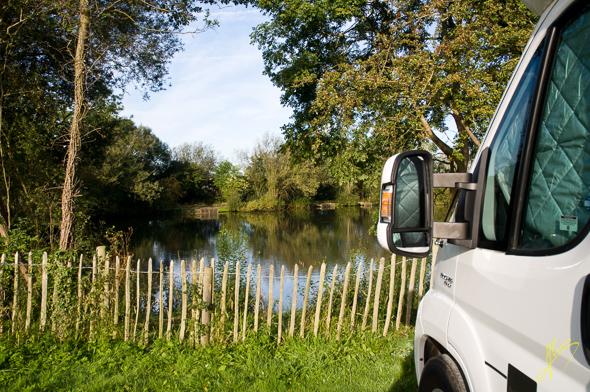 Winchcombe Camping and Caravan Club Site.