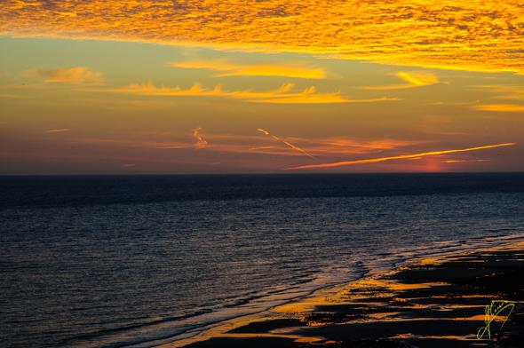 Sunrise at Woodhill.
