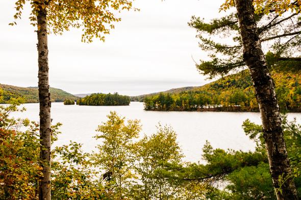 Wyman Lake.