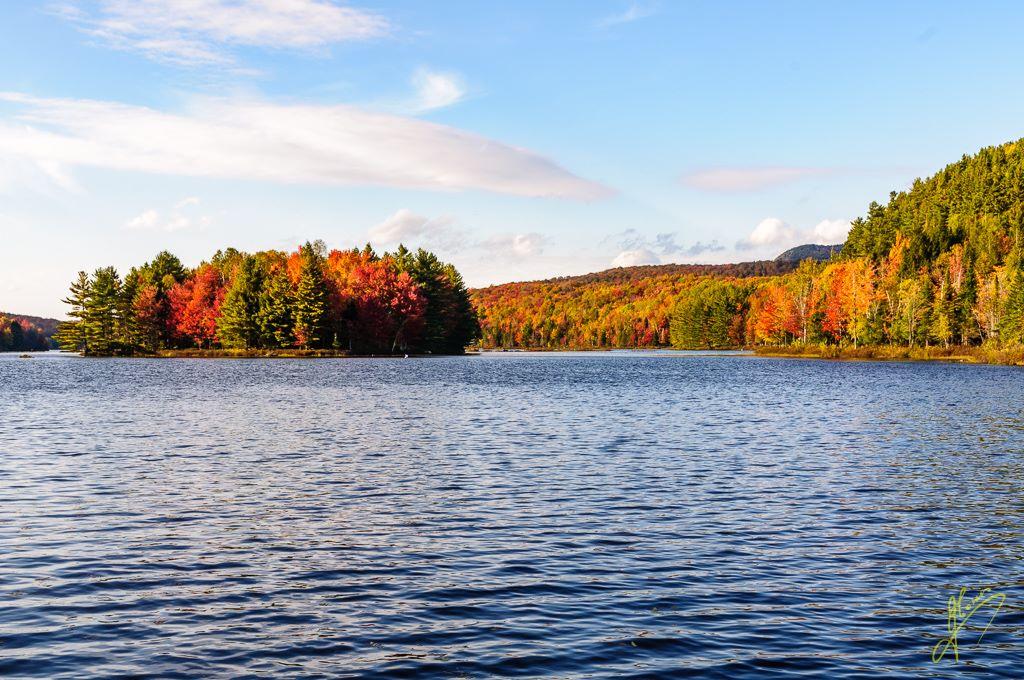 Ètang aux Cerises, Parc national du Mont-Orford, Quebec.