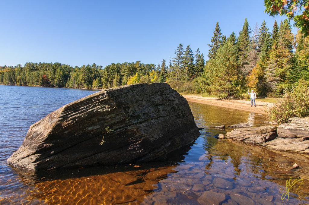 Lake of Two Rivers, Ontario.