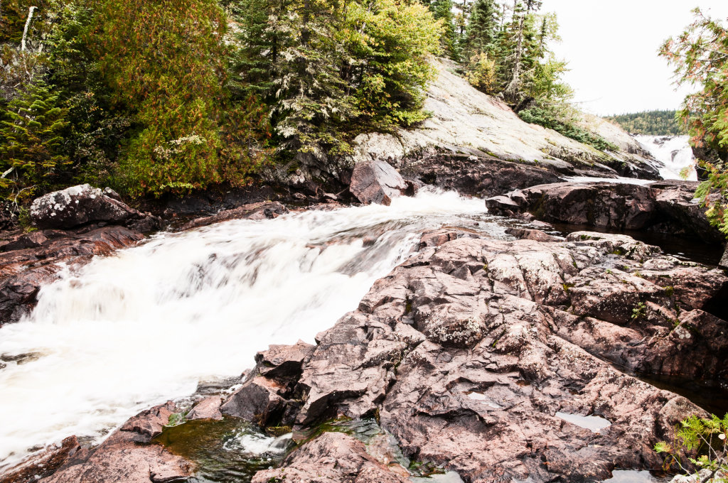 Rainbow Falls, Ontario.