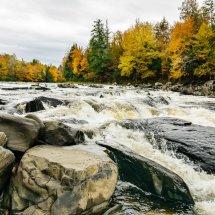 Rivière au Salmon, Quebec.