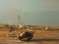 Low Tide at Brancaster Staithe