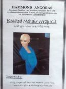Knitted Mohair Wrap Kit