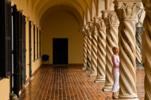 Modern Art Gallery Columns, Dubrovnik