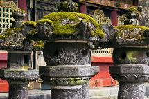 Stone Lanterns - Nikko