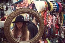 Mirror, Spitalfields Market