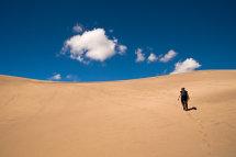 Climb, pre-sand surfing