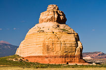 Bell Rock, on the road to Moab