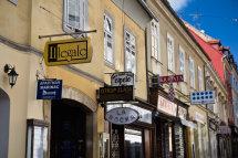 Upper Town Shopfronts, Zagreb