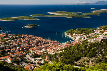 View from Sveti Nikola, Hvar Island