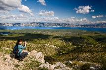 View from Sveti Nikola, Hvar Island