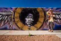 Jimi Hendrix, Santa Fe